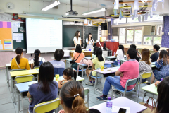 小一家長教師茶敍1_老師向家長講解功課類別及簡稱