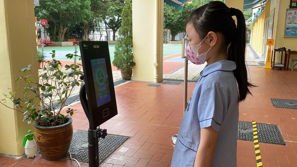 香港道教聯合會雲泉吳禮和紀念學校為復課做好準備